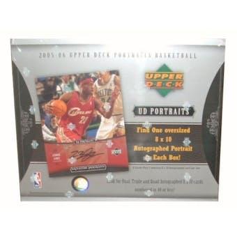 2005/06 Upper Deck Portraits Basketball Hobby Box
