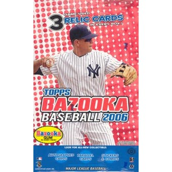 2006 Topps Bazooka Baseball Hobby Box