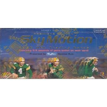 1996 Skybox Skymotion Football Hobby Box