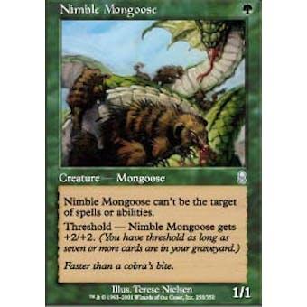 Magic the Gathering Odyssey Single Nimble Mongoose FOIL - NEAR MINT (NM)