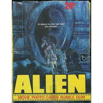 Alien the Movie Wax Box (1979 Topps)