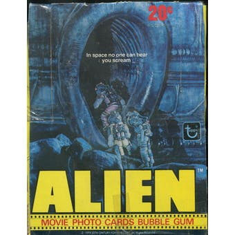 Alien the Movie Wax Box (1979 Topps)