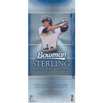 2005 Bowman Sterling Baseball Hobby Box
