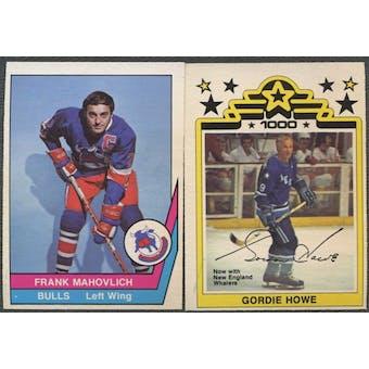 1977/78 O-Pee-Chee WHA Hockey Complete Set (NM-MT)