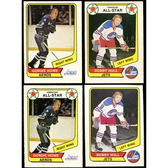 1976/77 O-Pee-Chee WHA Hockey Complete Set (NM-MT)