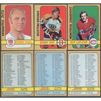 1972/73 O-Pee-Chee Hockey Complete Set (NM-MT)