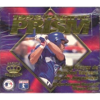 1996 Pacific Prism Spanish Baseball Hobby Box