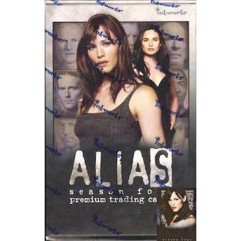 Alias Season 4 Hobby Box (2005 Inkworks)