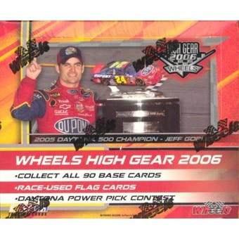 2006 Press Pass Wheels High Gear Racing Hobby Box