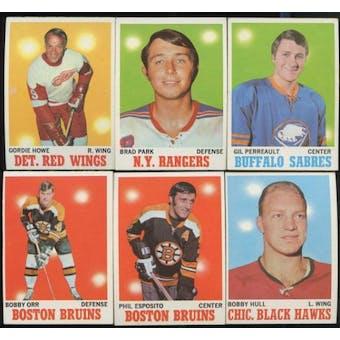 1970/71 Topps Hockey Complete Set (NM-MT)