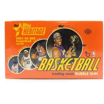 2001/02 Topps Heritage Basketball Hobby Box