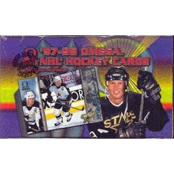 1997/98 Pacific Omega Hockey Canadian Hobby Box