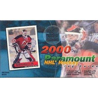 1999/00 Pacific Paramount Hockey Hobby Box