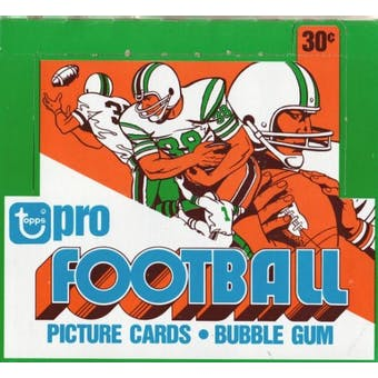 1978 Topps Football Cello Box