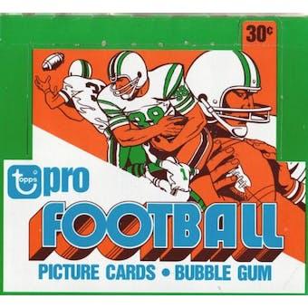 1978 Topps Football Cello Box