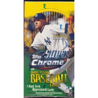 1999 Topps Superchrome Baseball Hobby Box