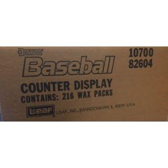 1989 Donruss Baseball Counter Display Case