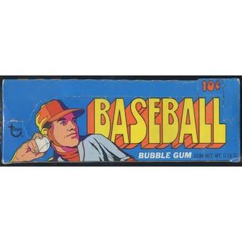 1972 Topps Series 3 Baseball Wax Box