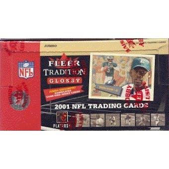 2001 Fleer Tradition Glossy Football Jumbo Box