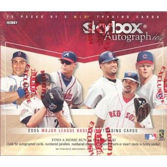2005 Fleer Skybox Autographics Baseball Hobby Box (Upper Deck)