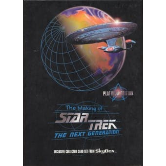 The Making of Star Trek: The Next Generation Platinum Edition Set (1994 Skybox)