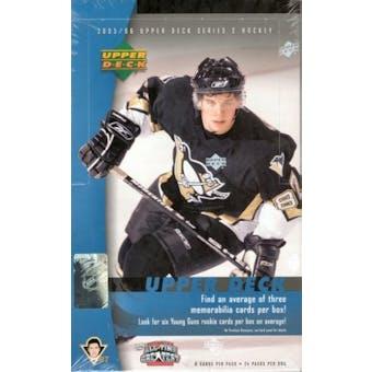 2005/06 Upper Deck Series 2 Hockey Hobby Box