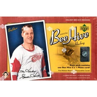 2005/06 Upper Deck Beehive Hockey Hobby Box