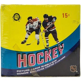 1978/79 O-Pee-Chee Hockey Wax Box