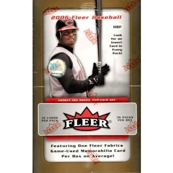 2006 Fleer Baseball Hobby Box
