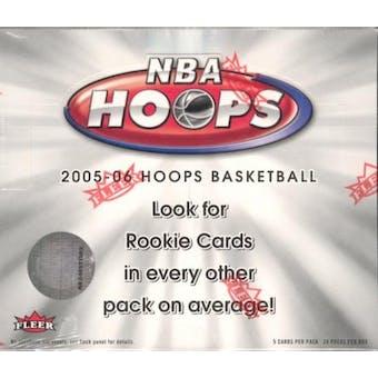 2005/06 Fleer Hoops Basketball Hobby Box (Upper Deck)