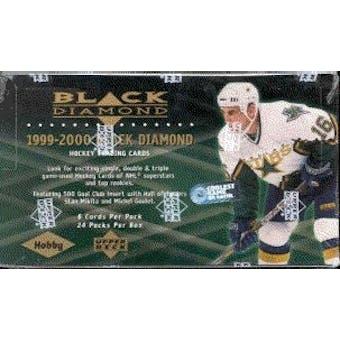1999/00 Upper Deck Black Diamond Hockey Hobby Box