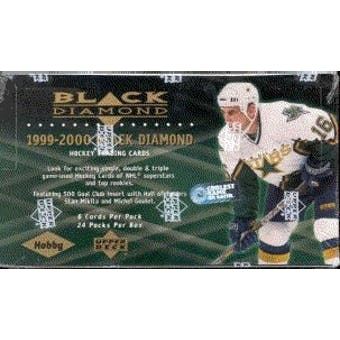1999/00 Upper Deck Black Diamond Hockey Hobby Box