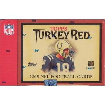 2005 Topps Turkey Red Football Hobby Box