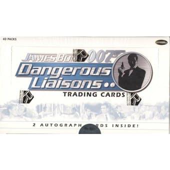 James Bond 007 Dangerous Liaisons Trading Cards Box (Rittenhouse 2006)