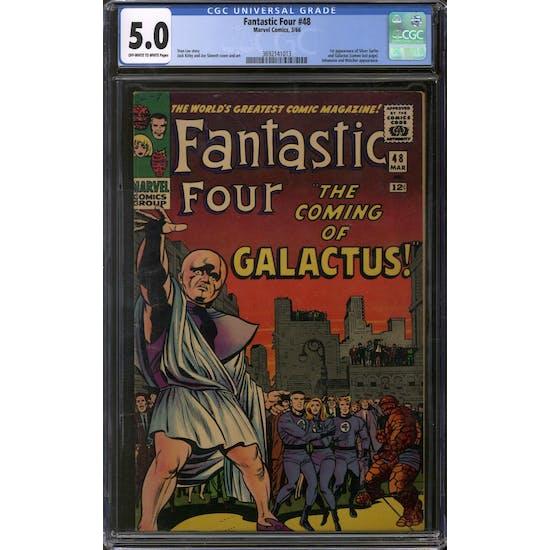 Fantastic Four #48 CGC 5.0 (OW-W) *3692141013*
