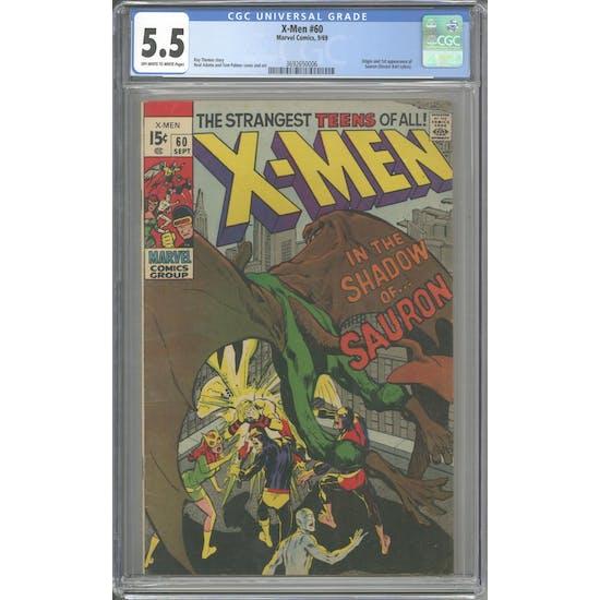 X-Men #60 CGC 5.5 (OW-W) *3692650006*