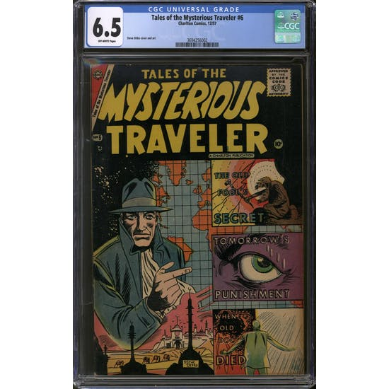 Tales of the Mysterious Traveler #6 CGC 6.5 (OW) *3694256002*