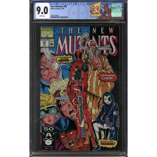 New Mutants #98 CGC 9.0 (W) *3695420002*