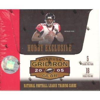 2005 Donruss Gridiron Gear Football Hobby Box