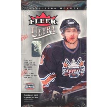 2005/06 Fleer Ultra Hockey Hobby Box