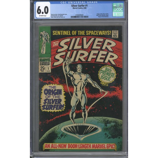 Silver Surfer #1 CGC 6.0 (OW) *3700095001*