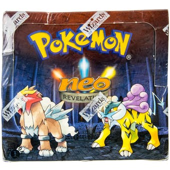 Pokemon Neo 3 Revelation 1st Edition Booster Box