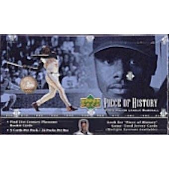 2002 Upper Deck Piece Of History Baseball Hobby Box