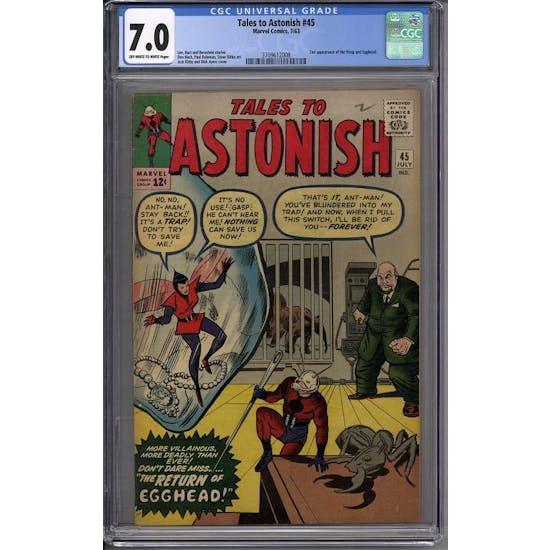 Tales to Astonish #45 CGC 7.0 (OW-W) *3709612008*