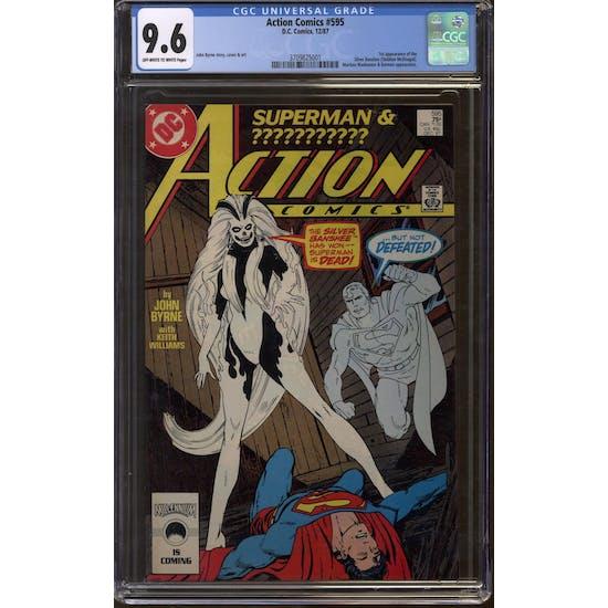 Action Comics #595 CGC 9.6 (W) *3709825001*