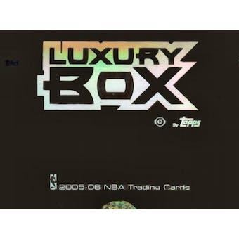 2005/06 Topps Luxury Box Basketball Hobby Box