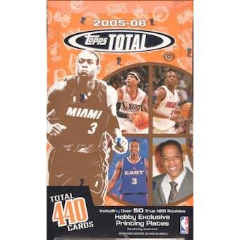 2005/06 Topps Total Basketball Hobby Box