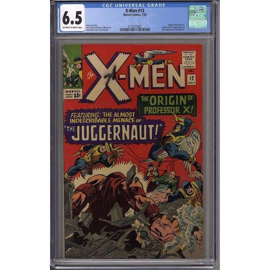 X-Men #12 CGC 6.5 (OW-W) *3716275001*