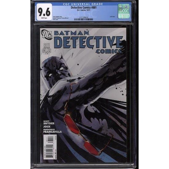 Detective Comics #881 CGC 9.6 (W) *3721249018*