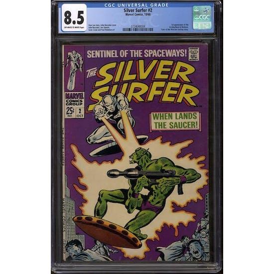 Silver Surfer #2 CGC 8.5 (OW-W) *3724048004*